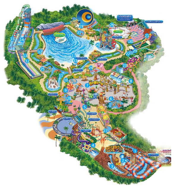 长隆野生动物园地图图片