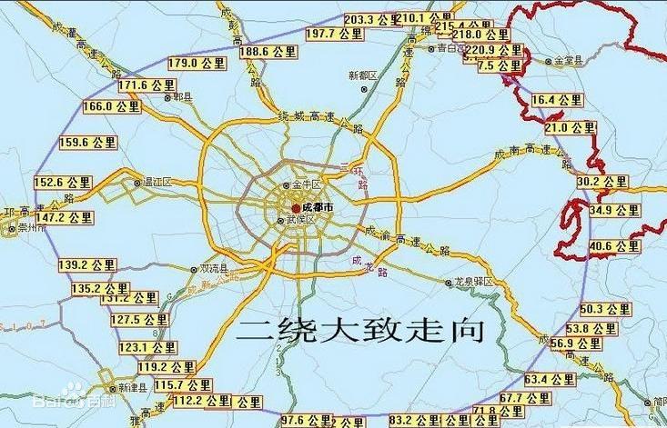 引导城市空间和产业合理布局,并将极大地促进成都二,三圈层之间及区县图片