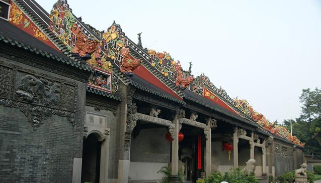 除了广州陈家祠,昆明金殿风景区,造型古朴的景点还有这些呢