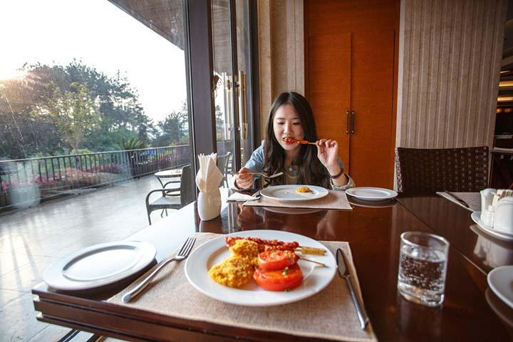 带上吃货女友去旅行_杭州千岛湖温馨岛度假酒店攻略