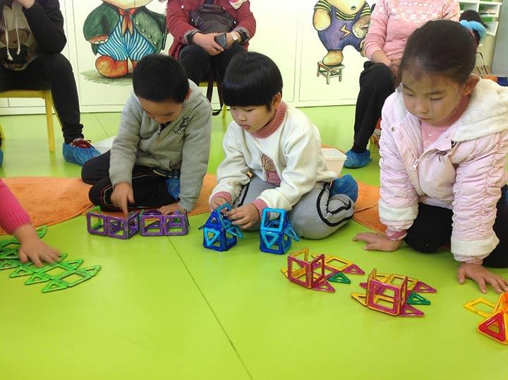 保护环境幼儿园玩教具手工操作