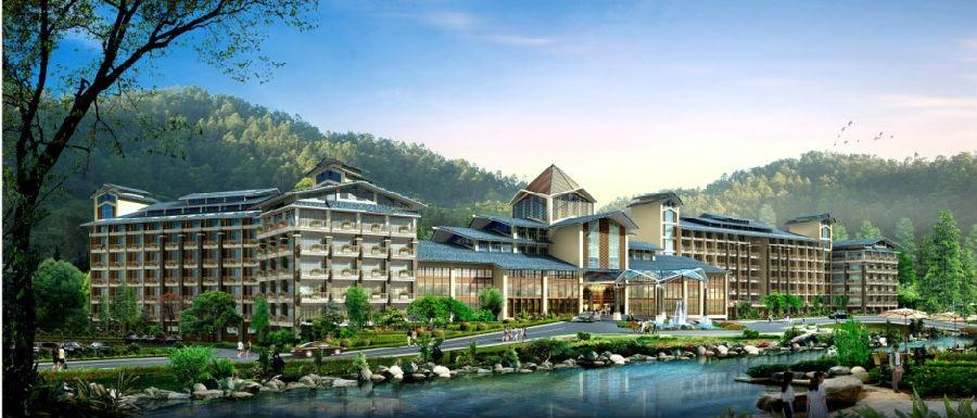 """4、【惠州海滨温泉】惠州海滨温泉是一所按国家""""AAAA""""级景区、"""