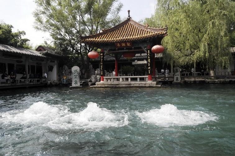 中国四大名泉