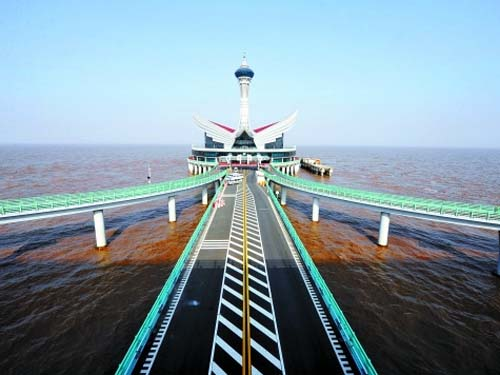 杭州湾跨海大桥是怎么设计的_跨海大桥的设计理念