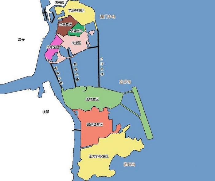 香港的地理位置_澳门在哪里_澳门地理位置介绍