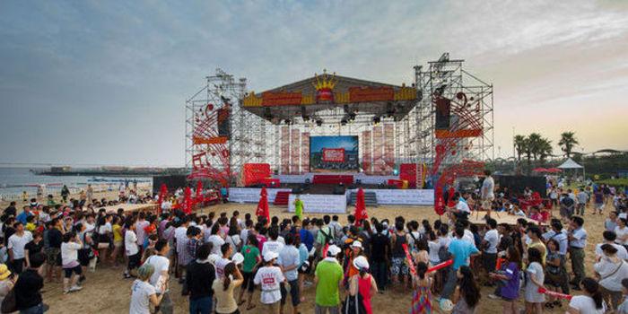 2014漯河沙滩音乐节 来场音乐之旅吧!