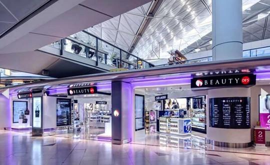 香港机场的免税店主要有哪些